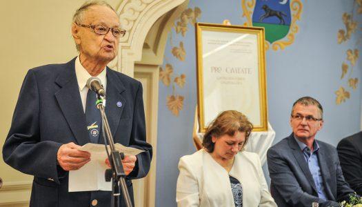 Pro Civitate Díjat kapott Deák Ferenc