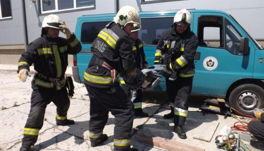 Tűzoltók mérték össze tudásukat Bélapátfalván