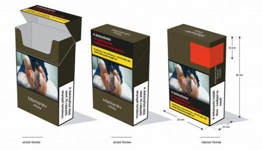 Megjelent az első egységes csomagolásban kapható cigaretta