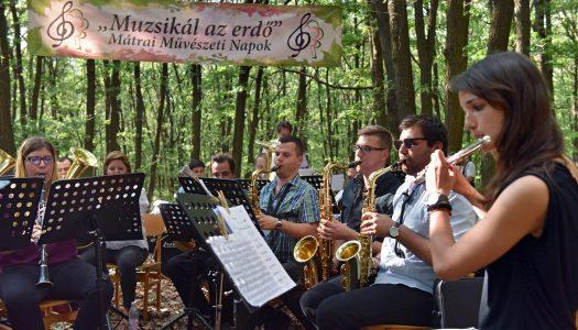 14 éve muzsikál az erdő a Mátrában