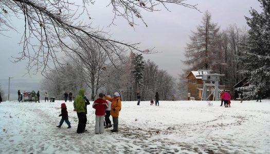 Vasárnap leeshet az első hó a Mátrában