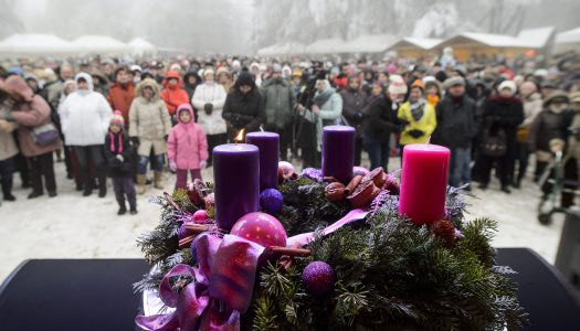 Advent a Kékesen – idén is fellángol az adventi máglya az ország legmagasabb pontján