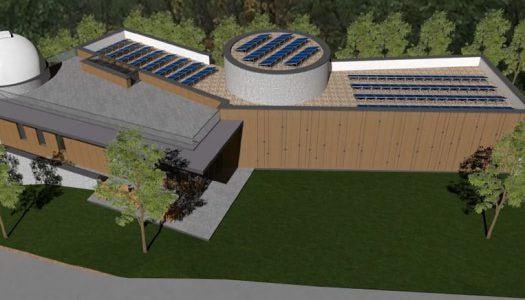 Bemutatták a bükki csillagászati élményközpont terveit