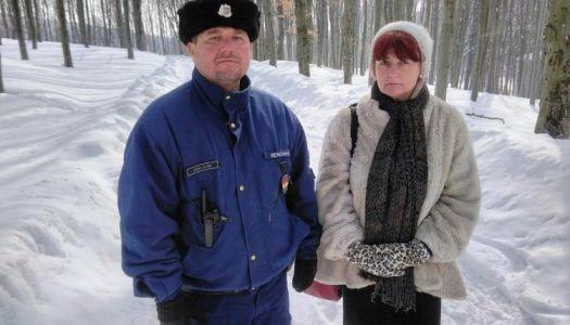 A mátrafüredi körzeti megbízott újabb turistát mentett meg